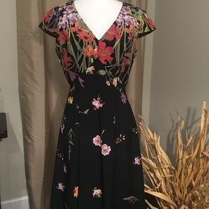 Floral Adrianna Papell Dress